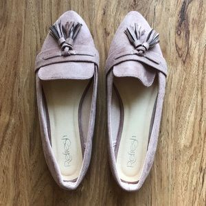 Blush Pink Casual Loafers